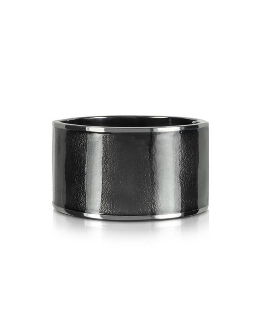 DSquared² - Gray Icon Brass And Enamel Armlet - Lyst