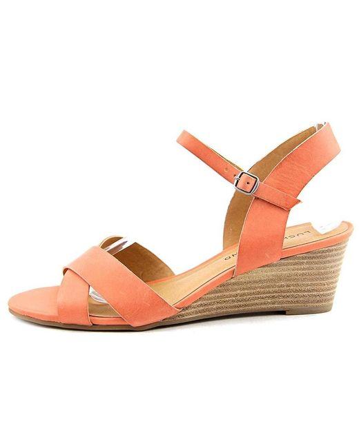 Lucky Brand - Pink Lucky Women's Lk-jaidan Espadrille Wedge Sandal - Lyst