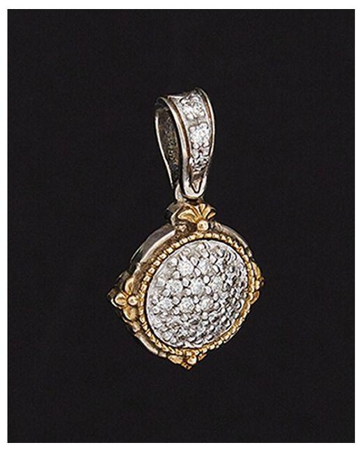 Konstantino | Metallic Asteri 18k & Silver 0.32 Ct. Tw. Diamond Necklace | Lyst