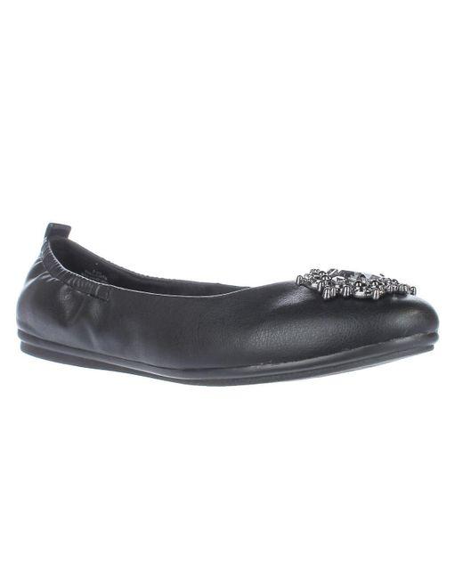 Easy Spirit - Georgetta Jeweled Ballet Flats - Black/black - Lyst