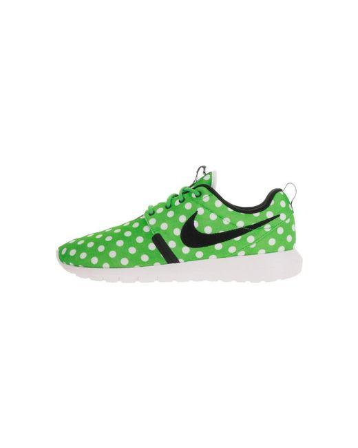 c7603b759668a Lyst - Nike Men s Roshe Nm Qs Running Shoe in Green for Men - Save 18%