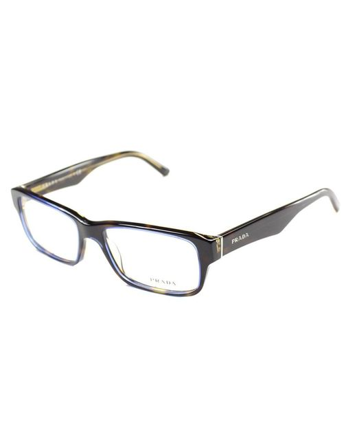 Prada - Multicolor Rectangle Plastic Eyeglasses - Lyst
