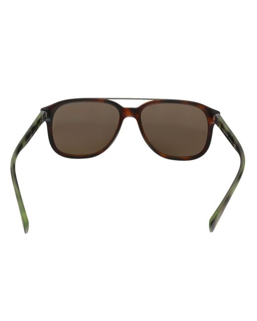 a7a21bf207c ... Burberry - Multicolor Be4233 362273 Havana Rectangle Sunglasses for Men  - Lyst ...