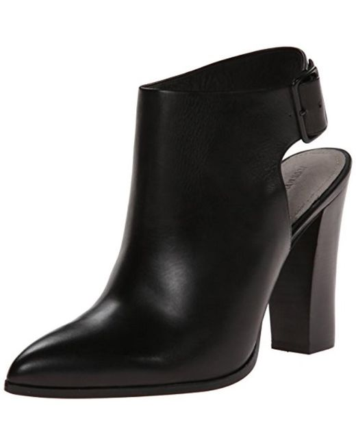 Pour La Victoire | Black Womens Zuri Leather Pointed Toe Ankle Fashion Boots Fashion ... | Lyst
