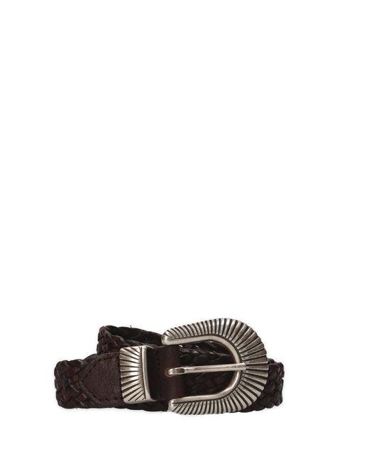 Eleventy - Men's 979ci0057cin2300505 Brown Leather Belt for Men - Lyst