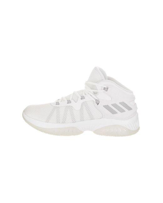 1ab0da32c ... Lyst Adidas - White Men s Explosive Bounce Basketball Shoe for Men ...