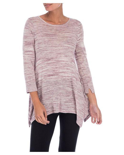 Bobeau - Multicolor Langley New Space Dye Sweater - Lyst