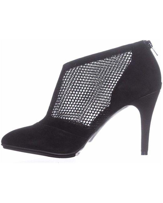 Alfani - Black Womens Saagef Suede Almond Toe Ankle Fashion Boots - Lyst