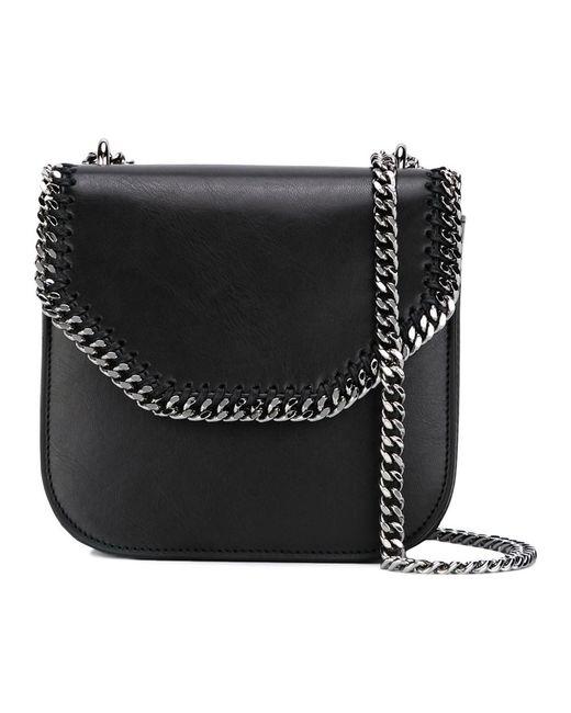 8216272f3a Stella McCartney - Women s 469027w99561063 Black Leather Shoulder Bag ...