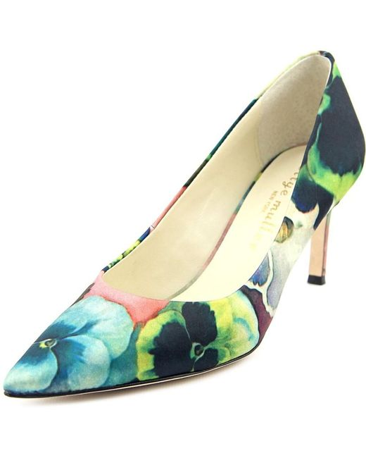 Bettye Muller   Multicolor Annie Pointed Toe Pumps - Pink Pansy   Lyst
