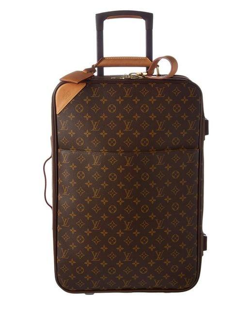 796453883ecb Louis Vuitton - Brown Monogram Canvas Pegase 55 - Lyst ...