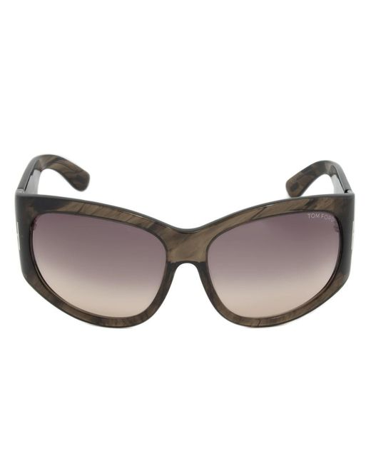 d6879aa6f3 Tom Ford - Natural Ft0404 50b Felicity Oval Sunglasses
