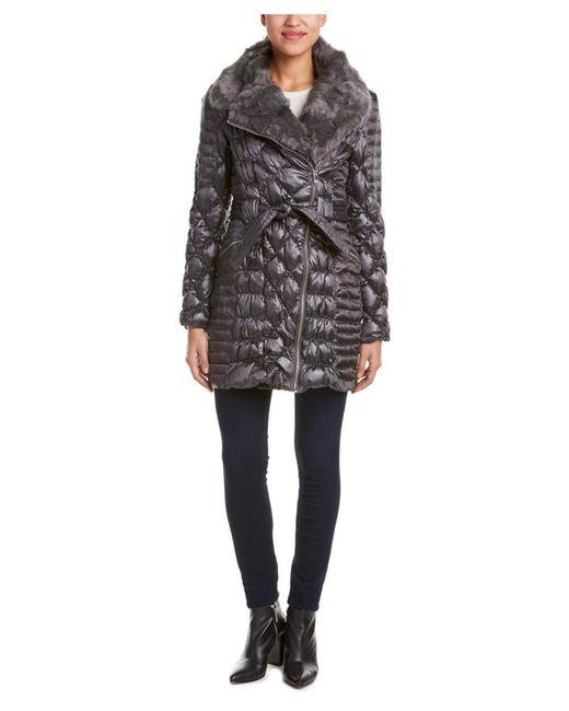 Via Spiga | Gray Kate Down Coat | Lyst