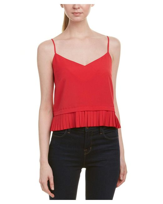 French Connection - Pink Polly Plains Cami - Lyst