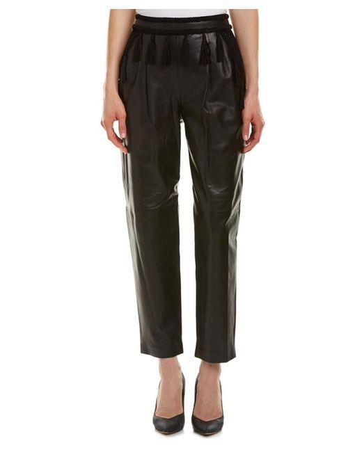 Rachel Zoe | Black Nora Leather Pant | Lyst