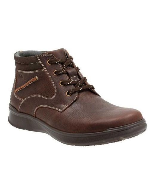 Clarks - Brown Men's Cotrell Rise Lace Up Ankle Boot for Men - Lyst
