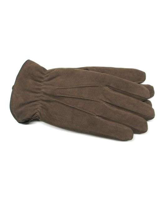 Gloves International - Brown Men's Suede Leather Gloves for Men - Lyst