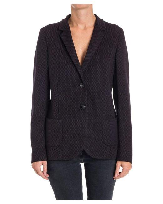 Seventy - Women's Black Wool Blazer - Lyst