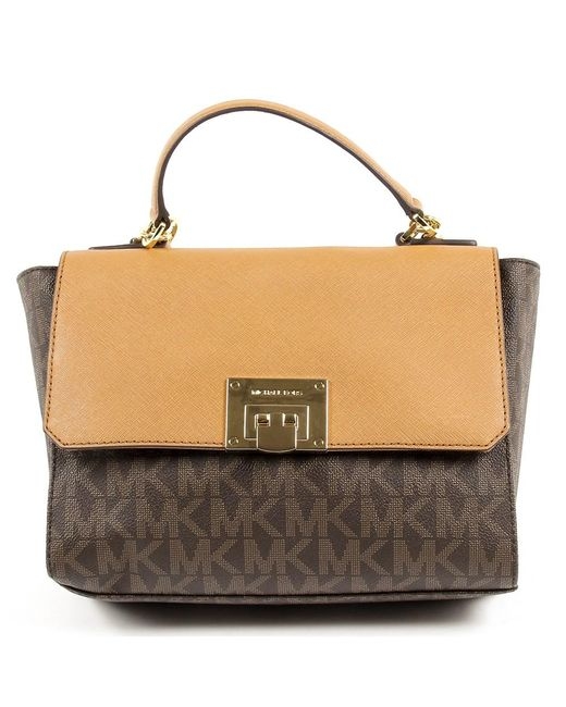 Michael Kors - Brown Womens Handbag Tina - Lyst