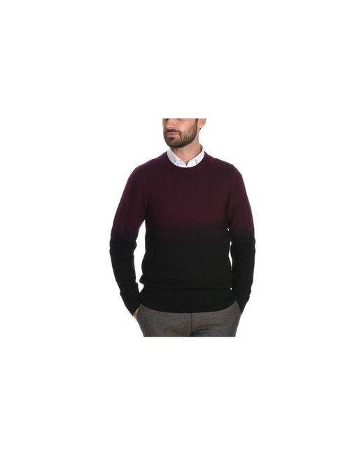 Paolo Pecora - Men's Black/red Wool Sweater for Men - Lyst