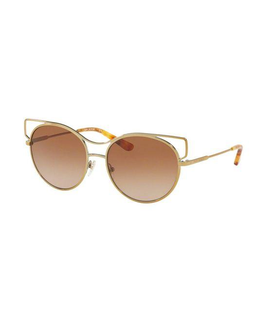 26436e092a Tory Burch - Metallic Ty6064 Women Sunglasses - Lyst ...
