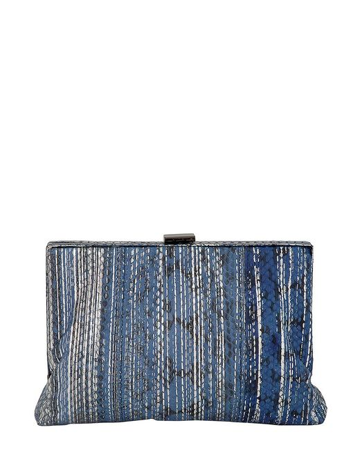 Inge Christopher - Blue Antigua Clutch - Lyst