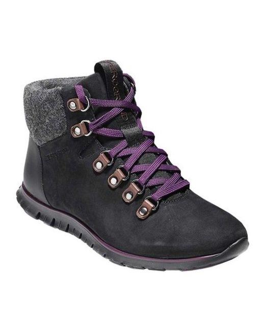 Cole Haan - Black Women's Zerogrand Hiker Boot - Lyst