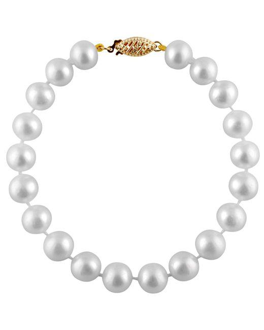 Splendid - White 8-8.5mm Cultured Freshwater Pearl Bracelet - Lyst