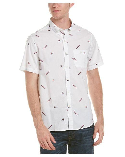Michael Bastian   White Gray Label Woven Shirt for Men   Lyst