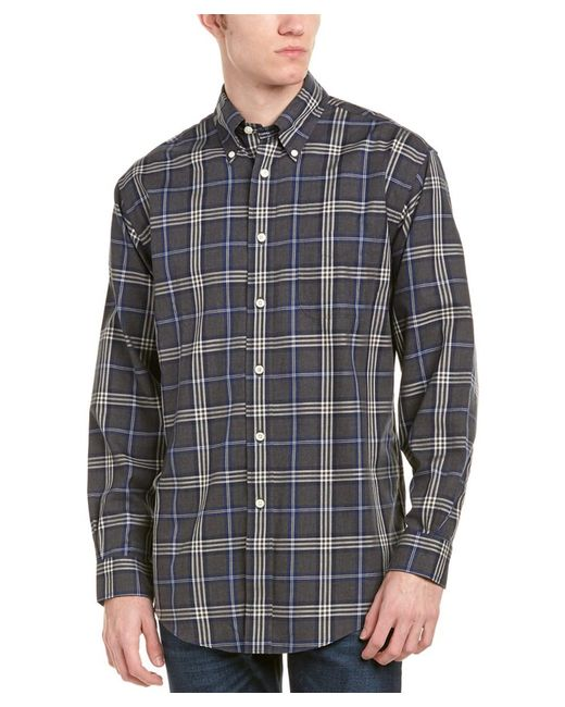 Brooks Brothers - Gray The Original Madison Fit Woven Shirt for Men - Lyst