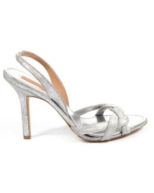 BCBGMAXAZRIA   Metallic Ladies Sandal   Lyst