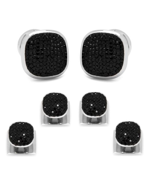 Ox and Bull Trading Co. | Black Pave Crystal Stud Set | Lyst