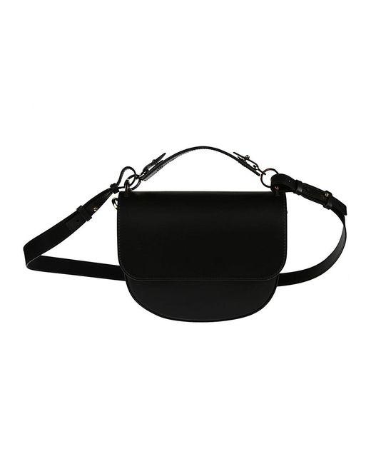 Sophie Hulme - Women's Bg262leblack Black Leather Shoulder Bag - Lyst