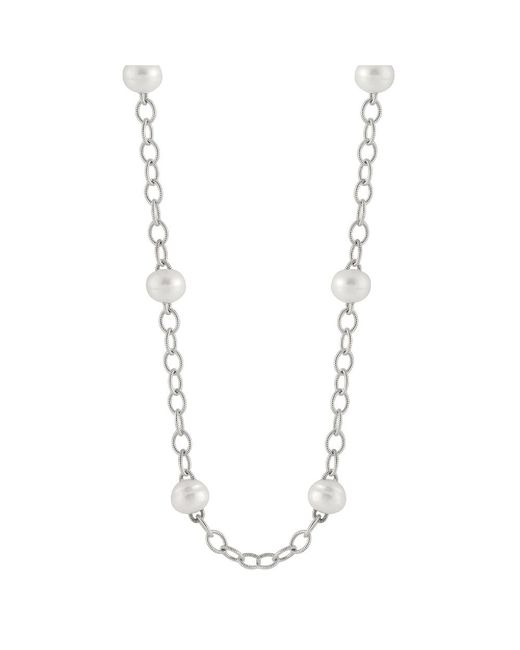 Splendid | Metallic Heavy Link Chain Tin Cup Necklace | Lyst