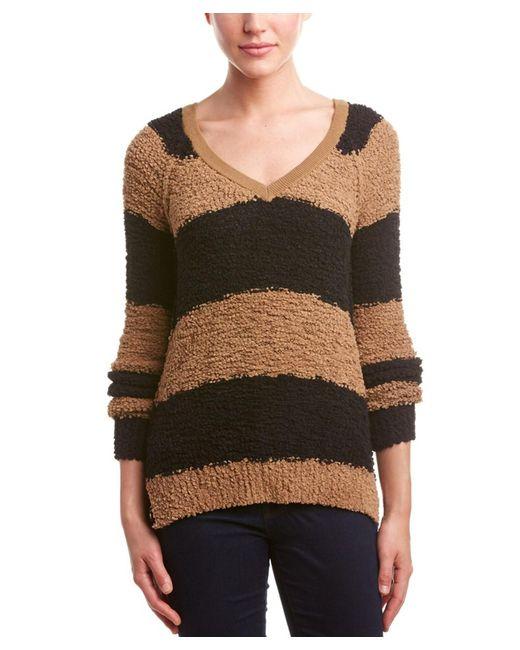Sanctuary - Multicolor Striped Chenille Sweater - Lyst