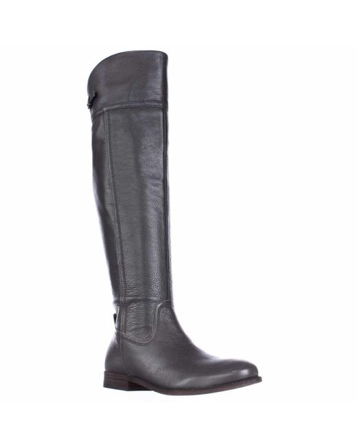 Franco Sarto - Gray Hydie Tall Riding Boots, Grey - Lyst