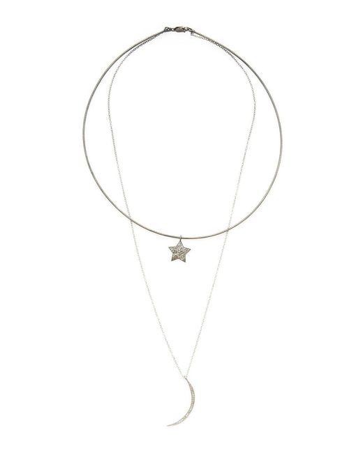 Adornia - Metallic Fine Silver Necklace - Lyst