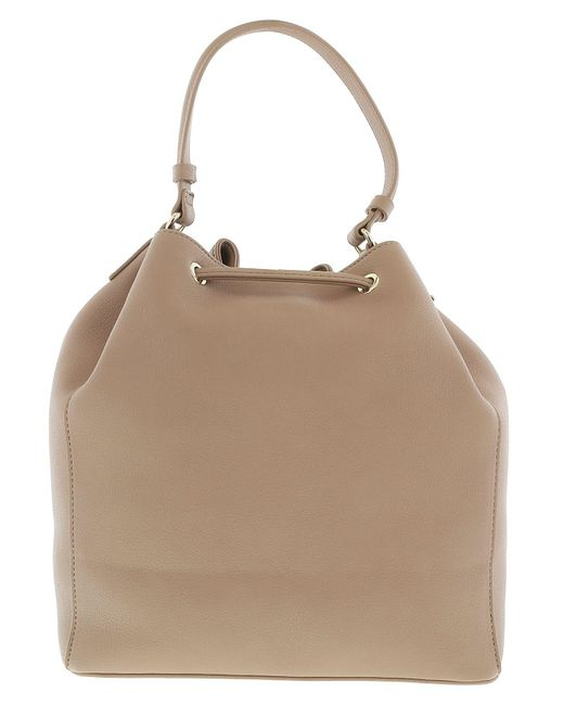 54717641b4af ... Versace - Ee1vrbbi3 Light Brown Bucket Bag W  Detachable Strap - Lyst  ...