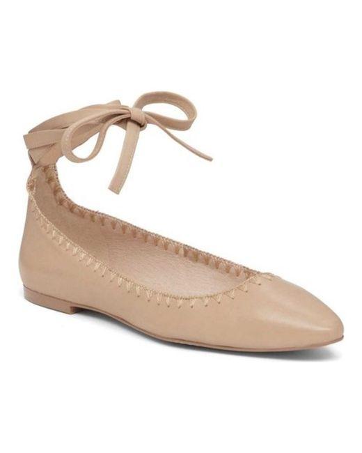 Vince Camuto - Natural Women's Braneeda Ballet Flat - Lyst