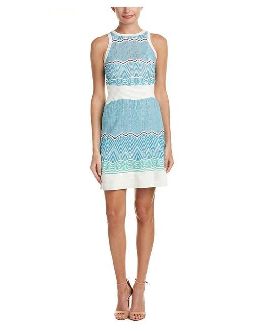 M Missoni   White A-line Dress   Lyst