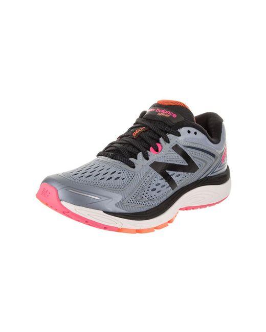 New Balance - Pink Women's 860v8 Running Shoe - Lyst
