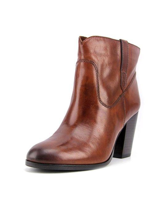 Frye | Myra Bootie Women Us 8.5 Brown Ankle Boot | Lyst