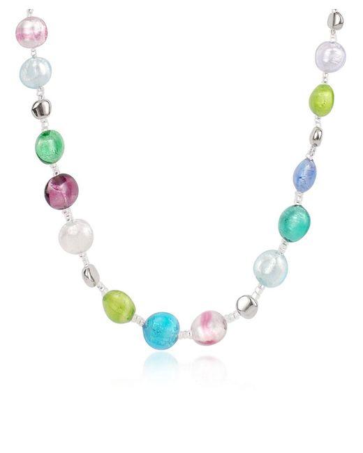 Antica Murrina - Multicolor Frida - Murano Glass Bead Necklace - Lyst
