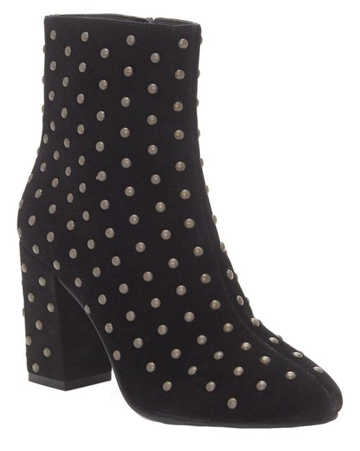 Lucky Brand - Black Wesson2 Suede Boot - Lyst