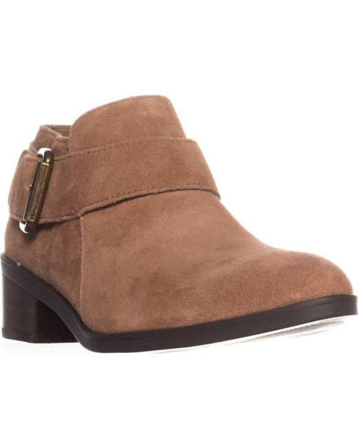 Bella Vita - Brown Hadley Ankle Boots, Tan Suede - Lyst