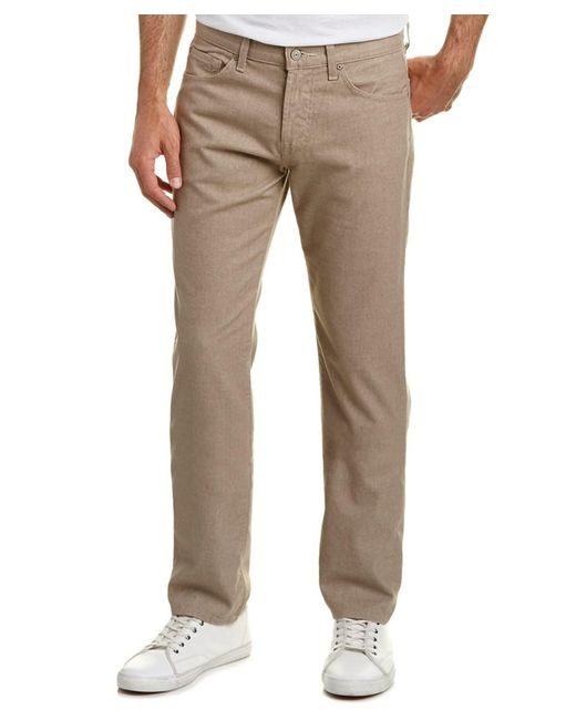 7 For All Mankind | Brown 7 For All Mankind Slimmy Tan Slim Straight Leg for Men | Lyst