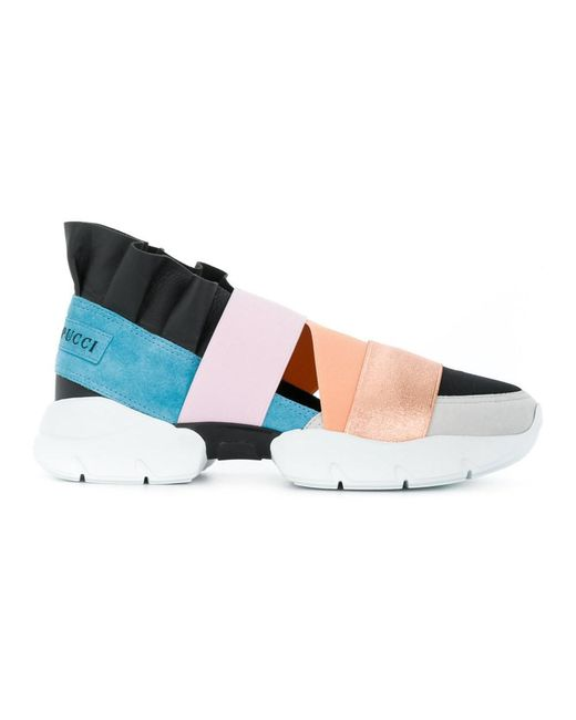 Emilio Pucci - Women's 82ce5582x04a06 Multicolor Faux Leather Slip On Sneakers - Lyst