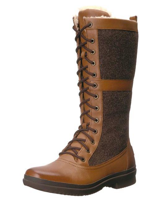 Ugg - Brown Ugg Women's Elvia Boot - Lyst