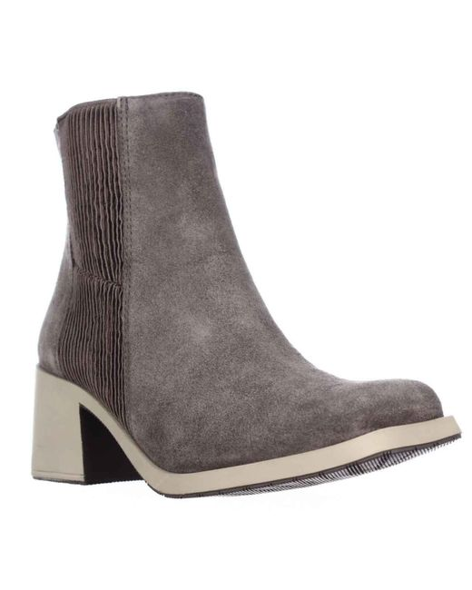 Naya - Brown Gang Chelsea Mid-calf Boots, Taupe - Lyst
