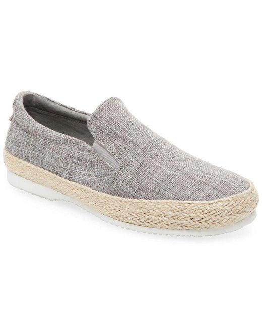 Saks Fifth Avenue - Gray Edan Slip-on Sneaker for Men - Lyst
